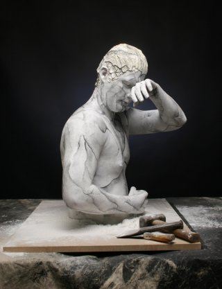Marble Statue – Body painting